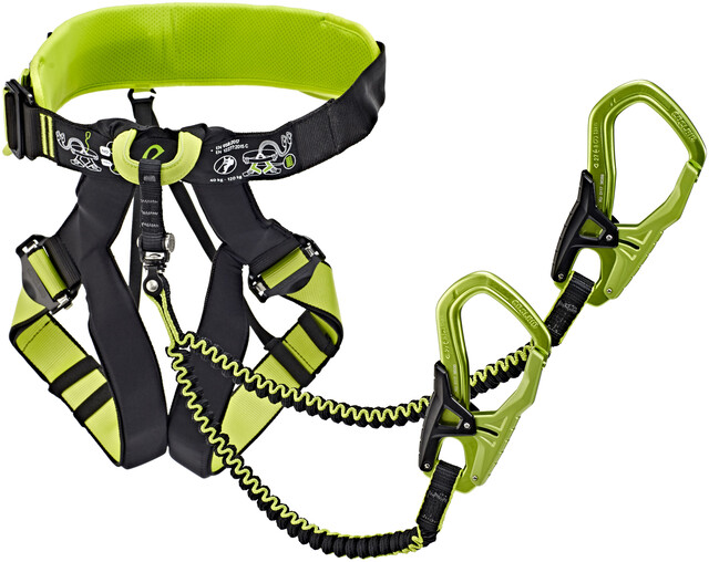 Edelrid Klettergurt Duke : Edelrid jester comfort harness night oasis campz